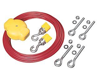 Lifeline Rope Tensioner System