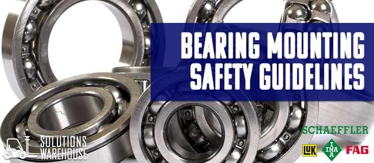 Picture for category Product Feature: Schaeffler Bearing Mounting Safety Guidelines